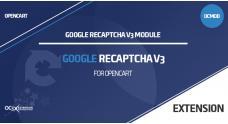 Модуль Google reCAPTCHA v3 OpenCart 3