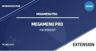 Megamenu Pro для OpenCart